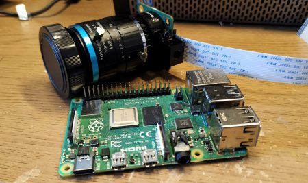 High Performance Camera Module for Raspberry Pi