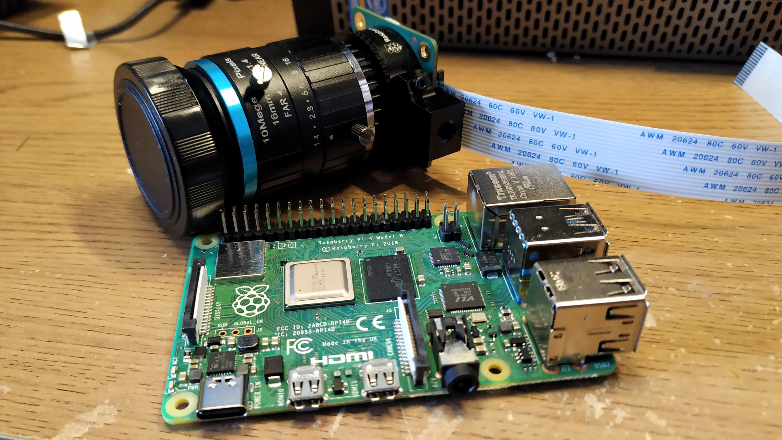 High Performance Camera Module for Raspberry Pi